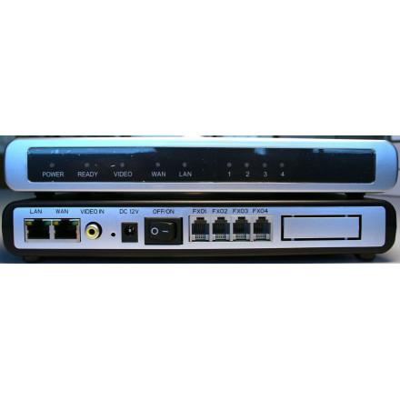 Grandstream GXW4104 - FXO-VOIP шлюз на 4 порта