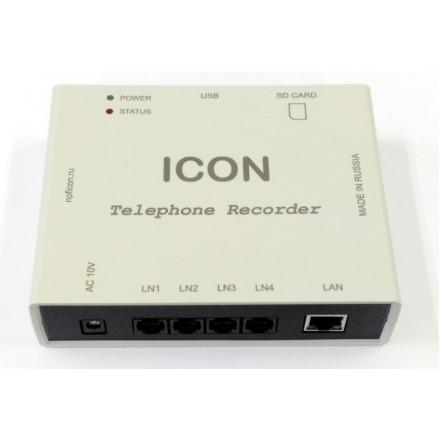 ICON TR4NS - сетевое устройство записи телефонных разговоров