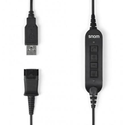 Snom ACUSB USB адаптер для гарнитур