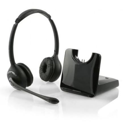 Беспроводная гарнитура для стационарного телефона с микролифтом Plantronics CS520/A-HL10/S