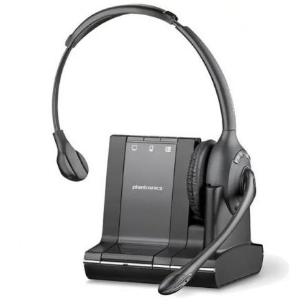 Беспроводная гарнитура Plantronics Savi W710/A для компьютера, мобильного и стационарного телефона (без микролифта)
