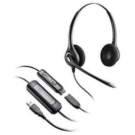 Профессиональная гарнитура Plantronics SupraPlus BNC Digital USB стерео