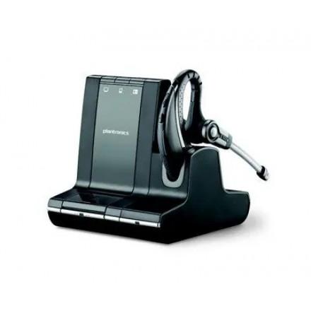 Plantronics W730/A, Savi, беспроводная гарнитура для компьютера, мобильного и стационарного телефона (без микролифта)