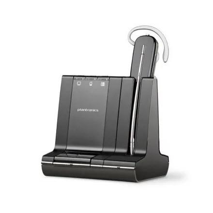 Plantronics W740/A, Savi, беспроводная гарнитура для компьютера, мобильного и стационарного телефона (без микролифта)