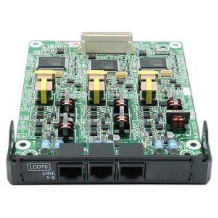Panasonic KX-NS5180X 6-портовая плата