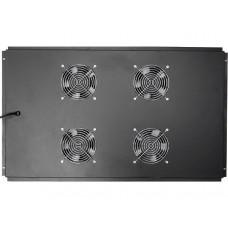 Блок вентиляторов 19 для серверных шкафов, черный GYDERS GDR-RCFB-1004B