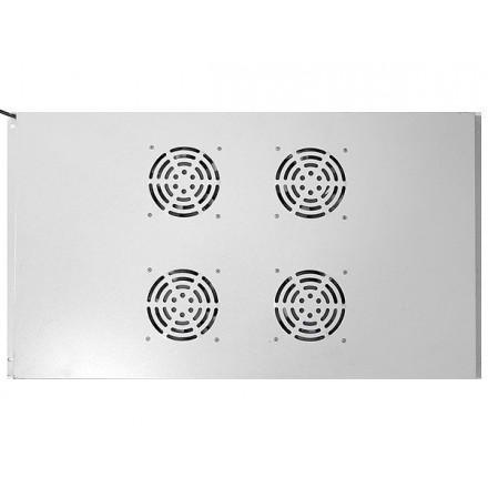 """Потолочный блок вентиляторов для шкафов 19"""" GYDERS GDR-RCFB-1004G"""