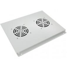 Блок вентиляторов 19 потолочный для шкафов 19, серый GYDERS GDR-RCFB-602G