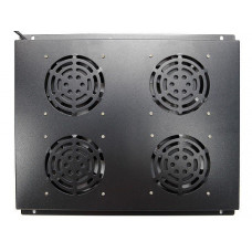 Блок вентиляторов потолочный для шкафов 19 GYDERS GDR-RCFB-804B