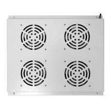 Блок вентиляторов потолочный для шкафов 19 дюймов,серый GYDERS GDR-RCFB-804G