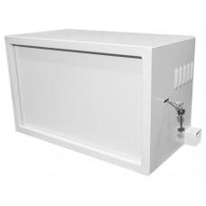 Шкаф антивандальный настенный 19 12U GYDERS GDR-126060GA