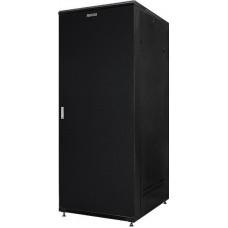 """Шкаф напольный 19"""" 22U GYDERS GDR-226080BMM, металлические двери, черный"""