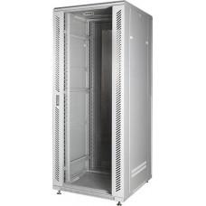 Шкаф для сервера напольный 19 дюймов 22U стеклянная дверь серый GYDERS GDR-226080G