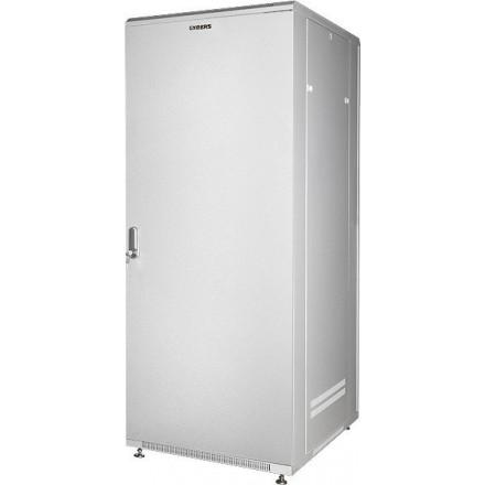 Телекоммуникационный шкаф 19 27U металлическая дверь черный GYDERS GDR-276060BM