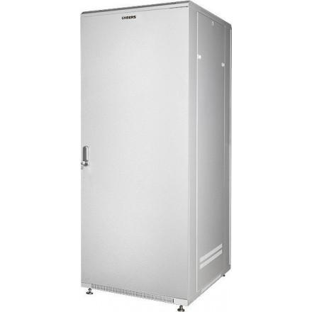 """Шкаф напольный 19"""" 47U GYDERS GDR-478080GM металлическая дверь, серый"""
