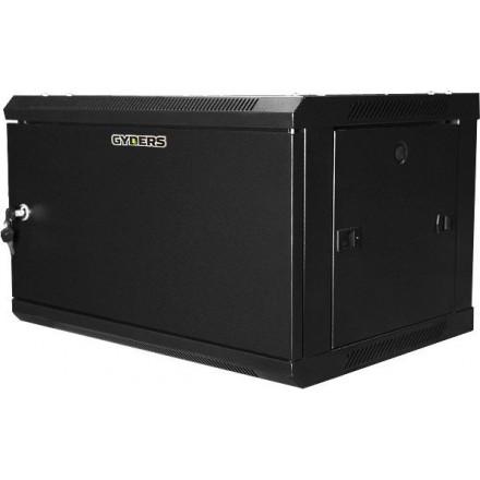 Шкаф настенный 19 дюймов 12U черный GYDERS GDR-126060BM
