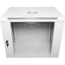 "Шкаф настенный 19"" 6U стеклянная дверь GYDERS GDR-66045G"