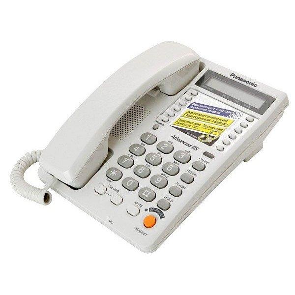 проводной аналоговый телефон panasonic
