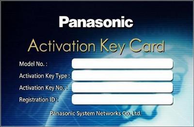 Ключи активации Panasonic KX-NS